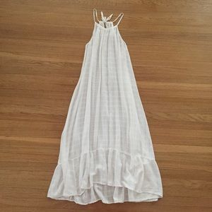 Image result for sheer linen plaids gown